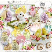 Elements cu - 429 Vintage Easter