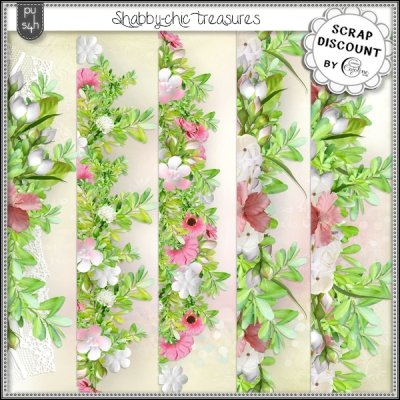 Shabby-chic treasures - borders
