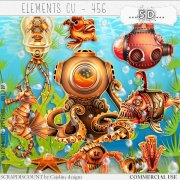 Elements cu - 456 Steampunk underwater