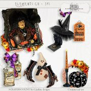 Elements cu - 391 Halloween