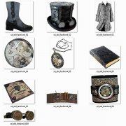Fashion - Accessories - Vintage - Steampunk 4