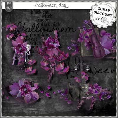 Halloween day - embellishments
