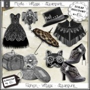 Fashion - Accessories - Vintage - Steampunk 3
