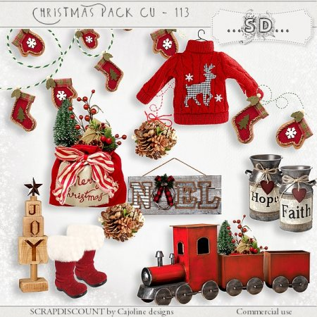 Christmas pack cu - 113