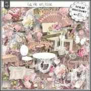 La vie en rose PU-S4H full size kit