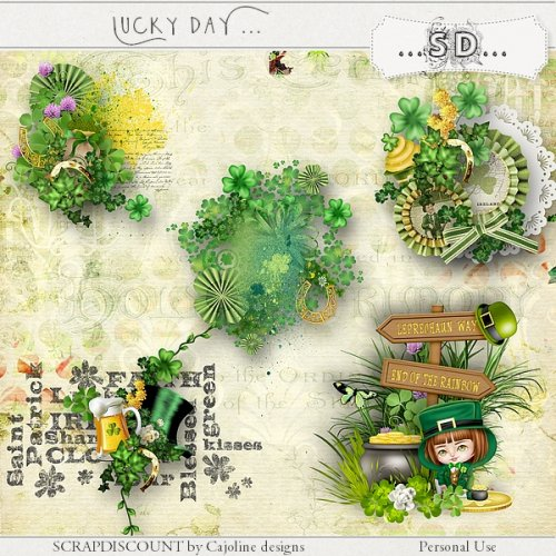Lucky day - embellissements