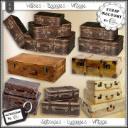 Suitcases - Luggages - Vintage 2