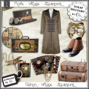 Fashion - Accessories - Vintage - Steampunk 10