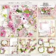 Shabby chic Easter day - album complet
