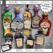 Bottles - Poison - Halloween 2