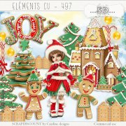 Elements cu - 497 A sweet Christmas