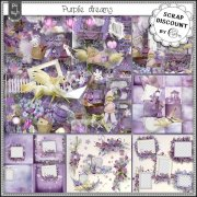 Purple dreams - embellissements