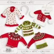 Clothes - wool - Christmas