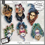 Masques - carnaval 1