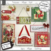 Signs - Vintage - Christmas 3