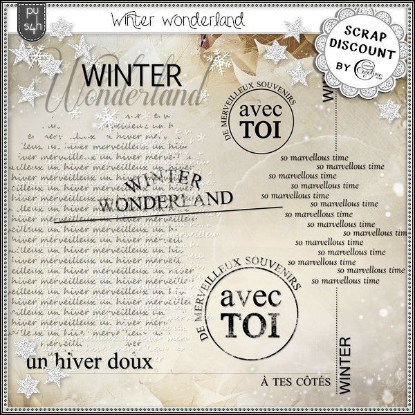 Winter wonderland - Mots d'art