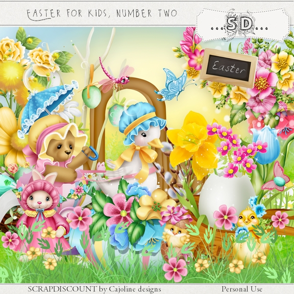 Easter for kids number two - full size kit PU/S4H
