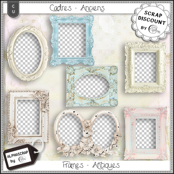 Frames - Antique 12