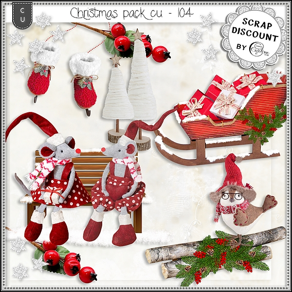 Christmas pack cu - 104