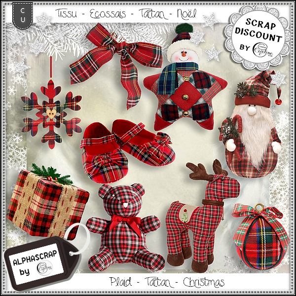 Plaid - Tartan - Christmas