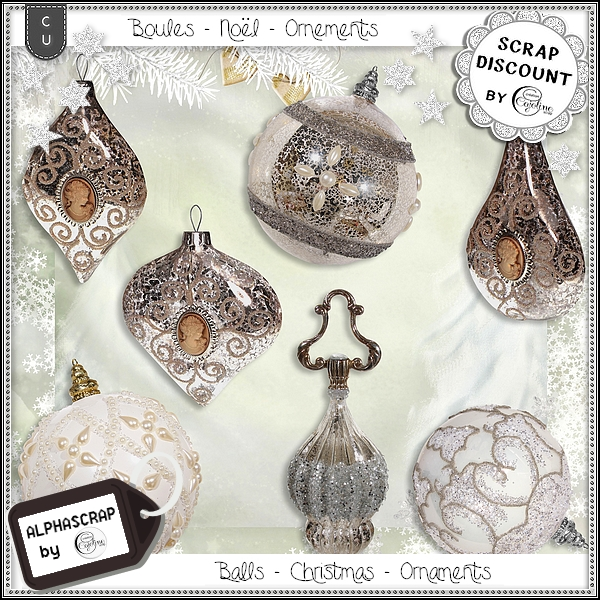 Ornaments - Balls - Christmas 4