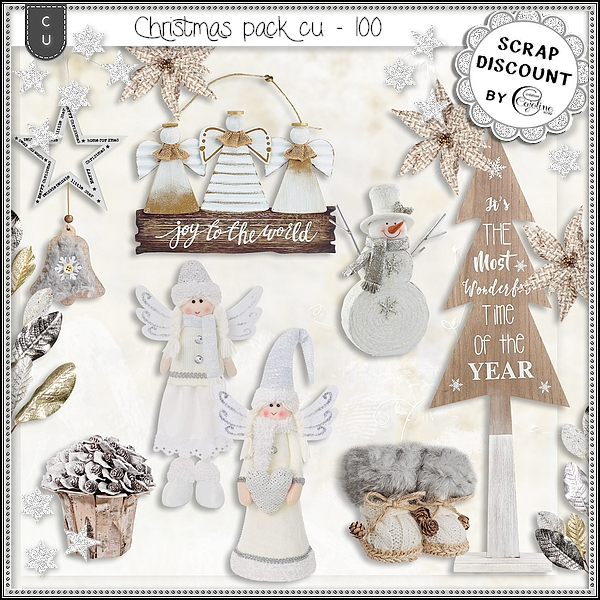 Christmas pack cu - 100