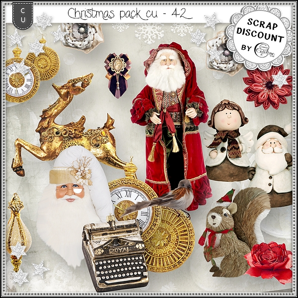 Christmas pack CU - 42