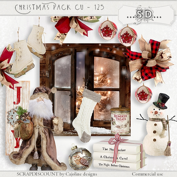 Christmas pack cu - 125