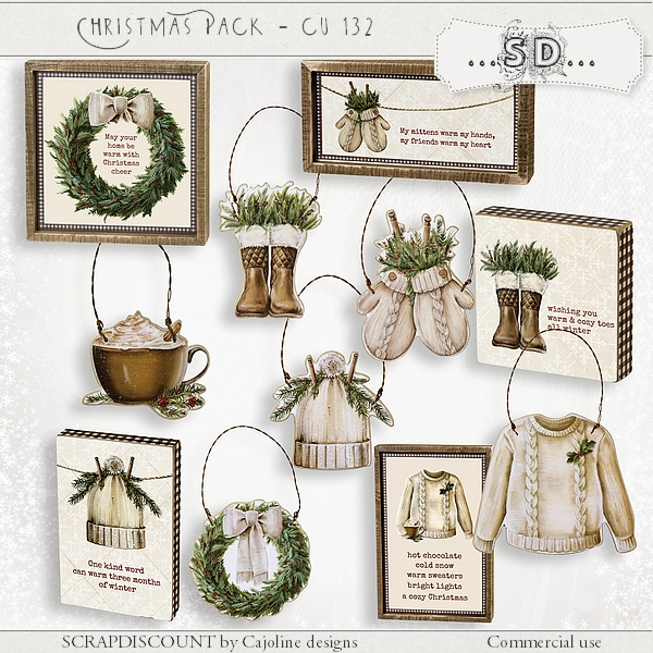 Christmas pack cu - 132
