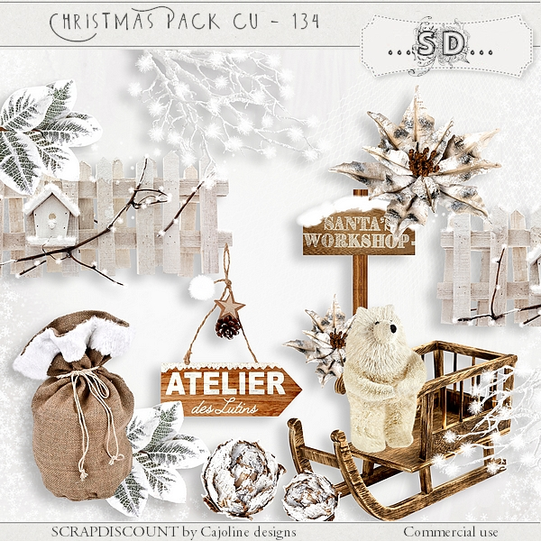 Christmas pack cu - 134