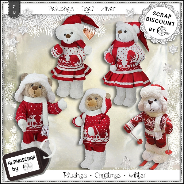 Plushies - Christmas - Winter 1