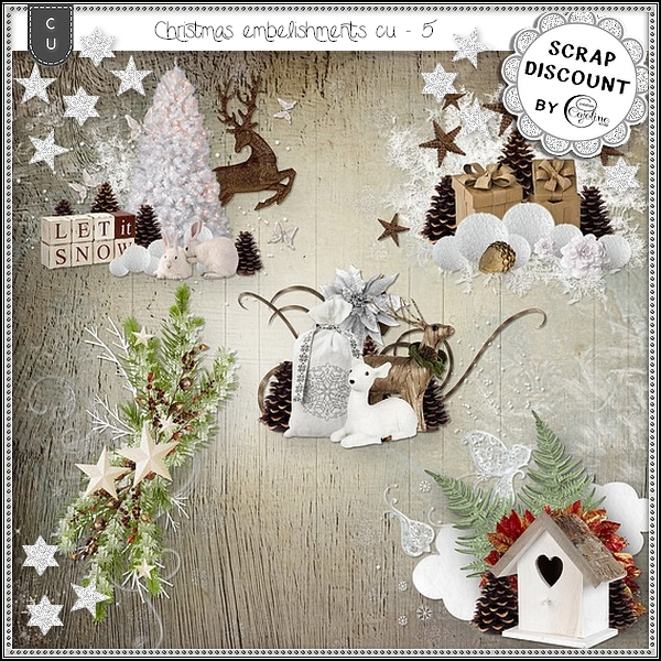 Christmas embellissements CU - 5 - Click Image to Close