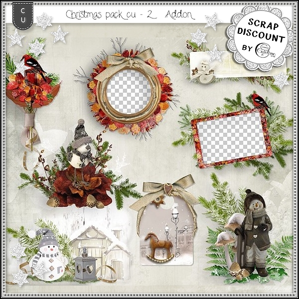 Christmas pack CU - 2 add on
