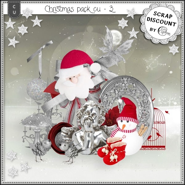 Christmas pack CU - 3