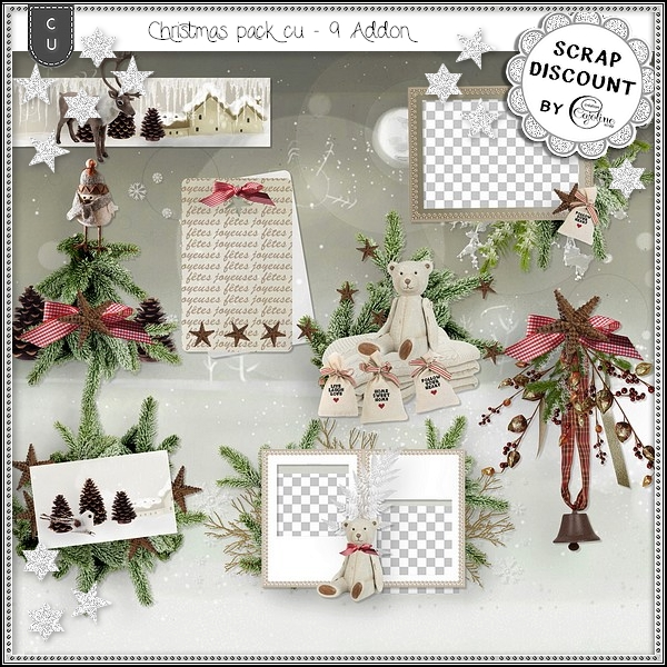 Christmas pack CU9 - addon