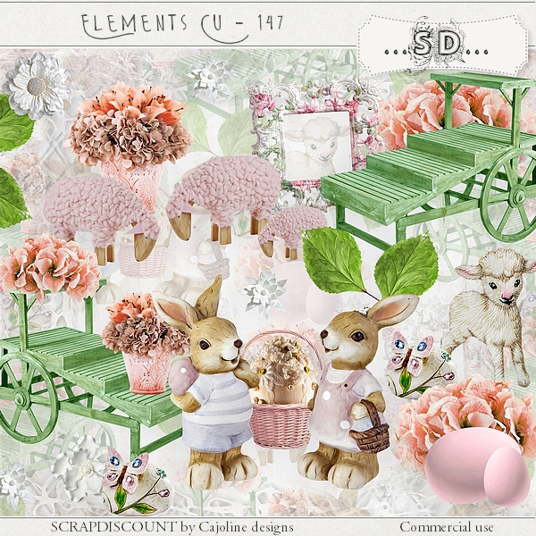 Elements CU - 147 Easter and spring