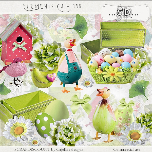 Elements CU - 148 Easter and spring