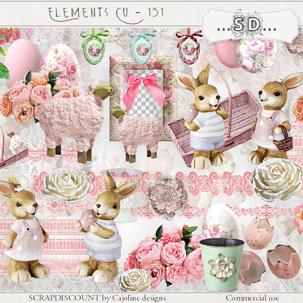 Elements CU - 151 Easter and spring