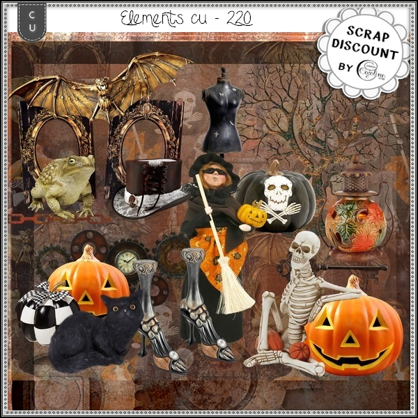Elements CU - 220 Halloween
