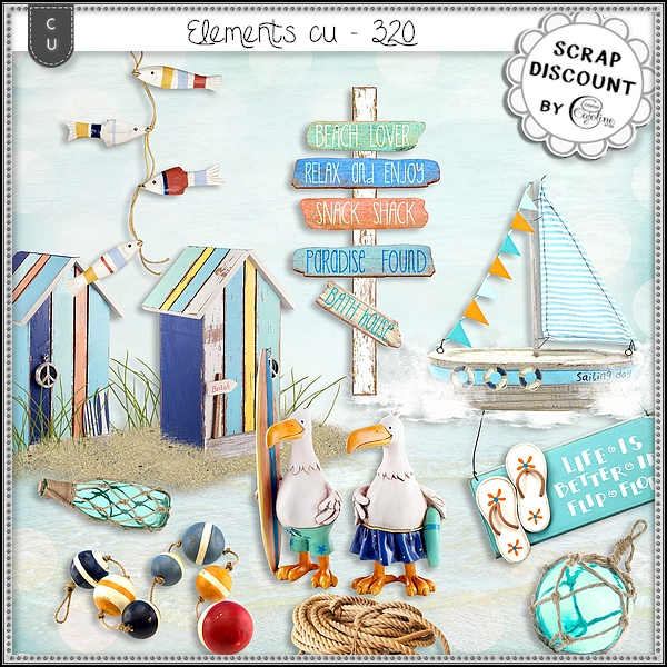 Elements CU - 320 Summer, Sea, Beach