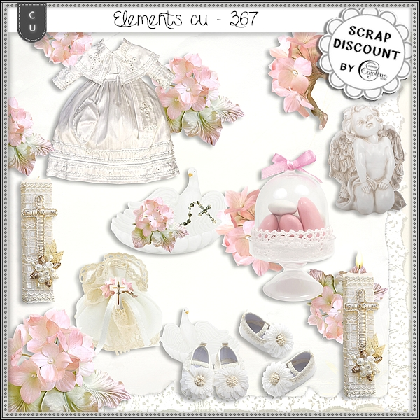 Elements cu - 367 Christening - Baby