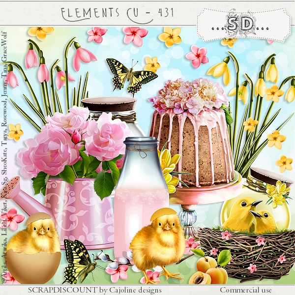 Elements cu - 431 Easter day