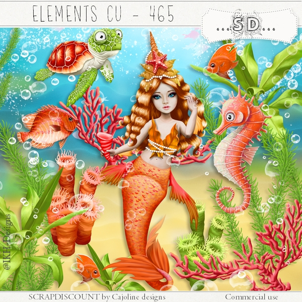 Elements cu - 465 The coral world 2