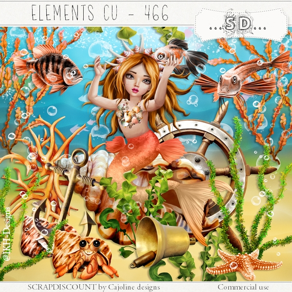 Elements cu - 465 The coral world 3