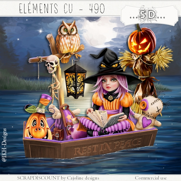 Elements cu - 490 The Halloween night 2