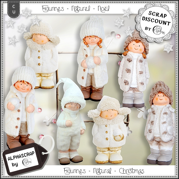 Figurines - Christmas - Winter 3