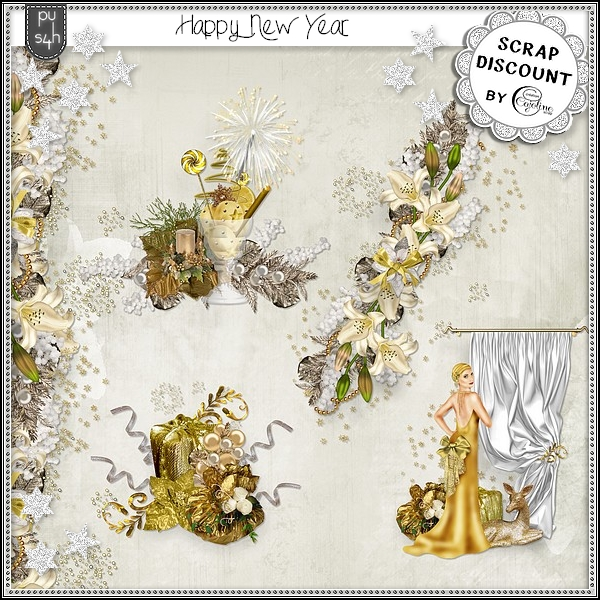 Happy New-Year - embellissements