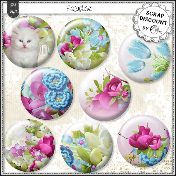 Paradise - boutons