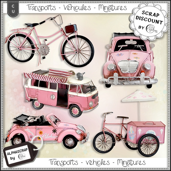 Vehicles - Transports - Miniatures 1 - Click Image to Close
