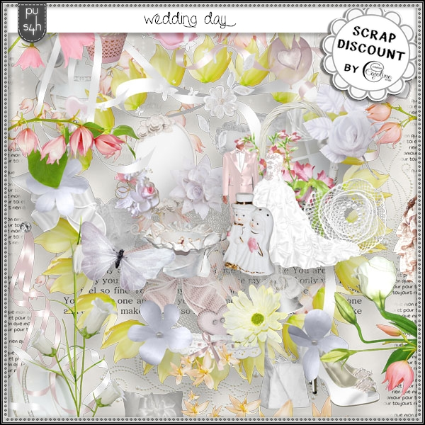 Wedding day - stacked papers - Click Image to Close